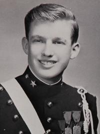 Donald Trump Senior Yearbook Photo