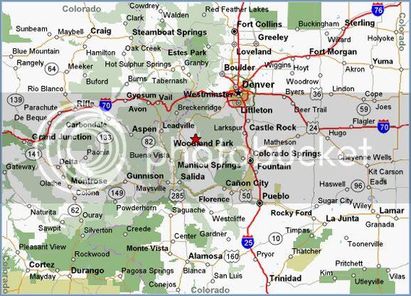 Colorado Highway Map - Free Printable Maps