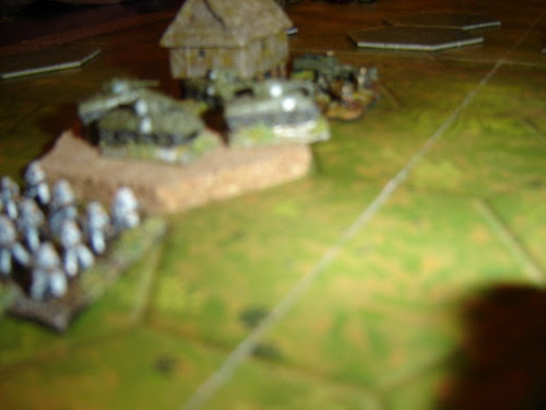 Fighting Seabees backed up by armour platoon - Battle of Pacific RR