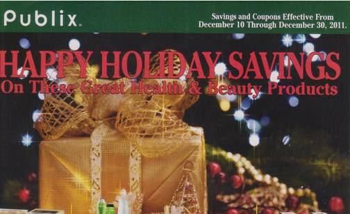 Happy Holiday Publix Green Advantage Buy Happy Holiday Savings Ad & Coupons 12/10 to 12/30