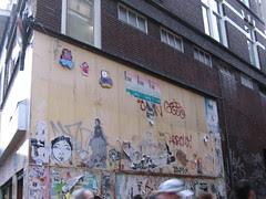 wheatpaste Amsterdam