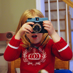 playing with the diana