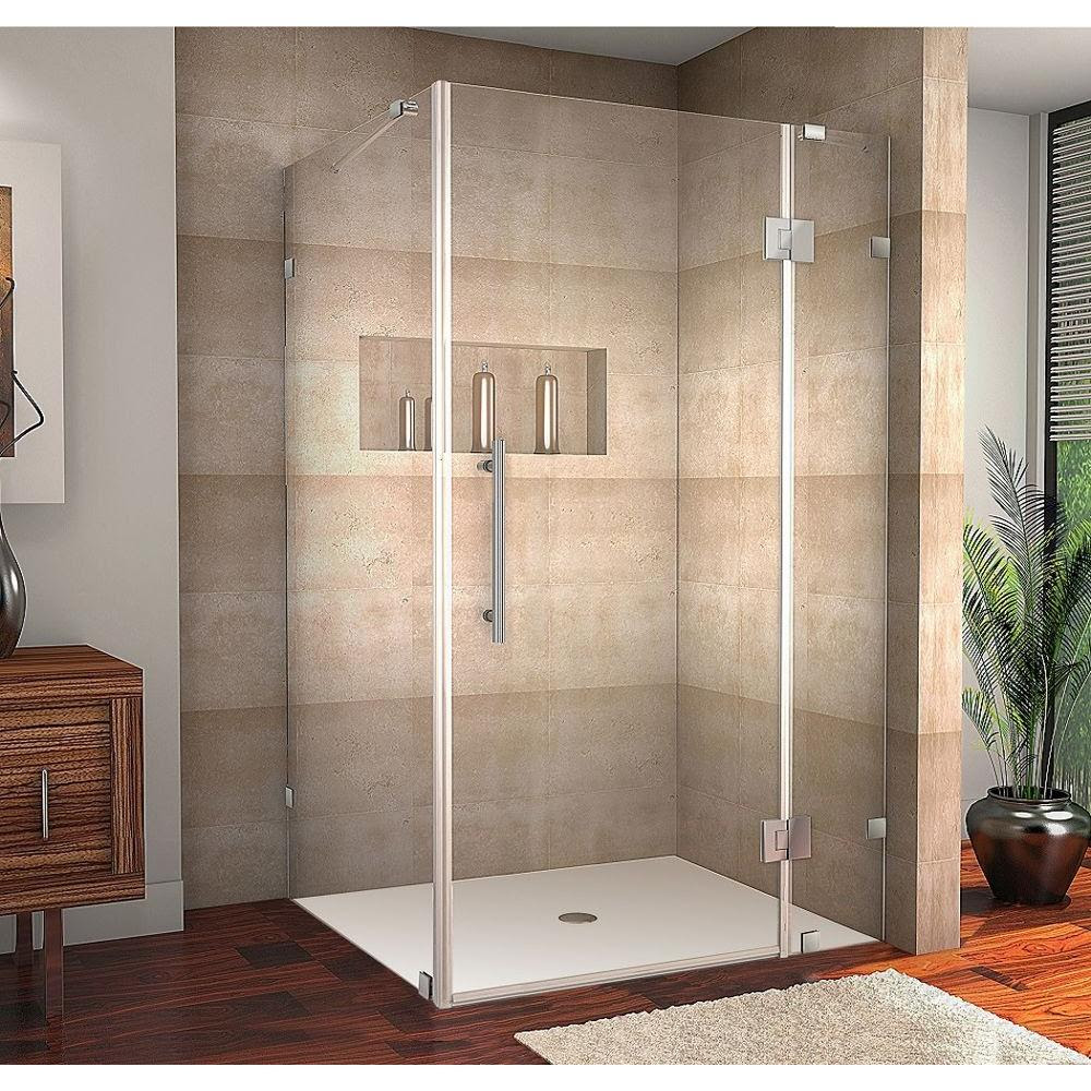 Aston Avalux 48 In X 34 In X 72 In Completely Frameless Shower