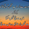 Islamic Quotes About Death In Urdu