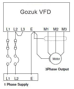 Single Phase Vfd With 220v Input Output