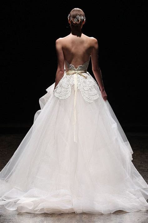 Lazaro, Spring 2014   Wedding, Tulle wedding dresses and