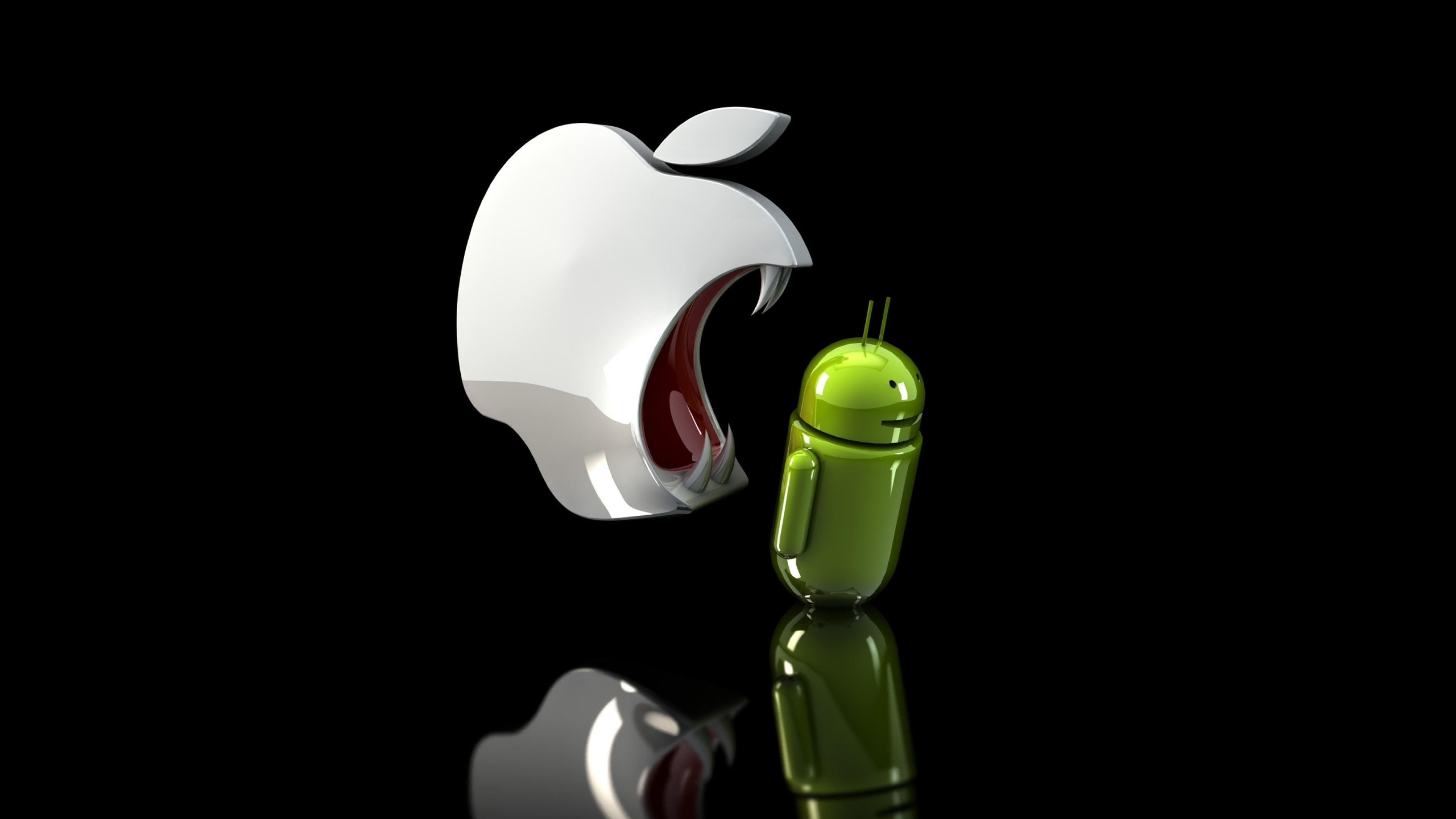 Apple Vs Android Wallpaper 63 Images