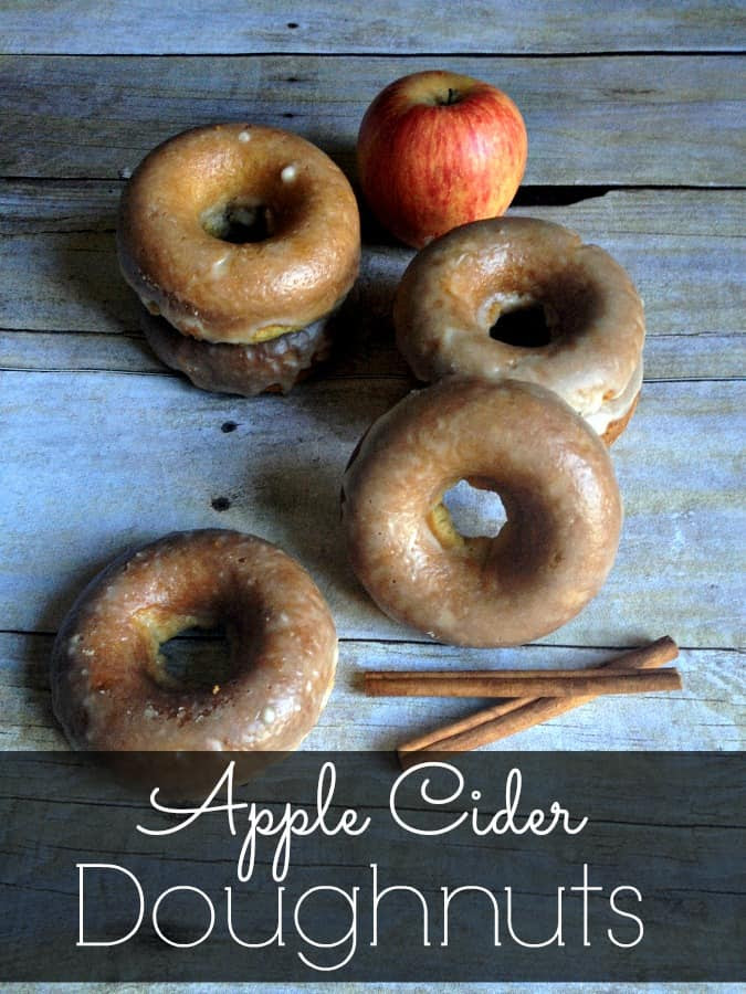 Apple Cider Doughnuts by Inspiration for Moms