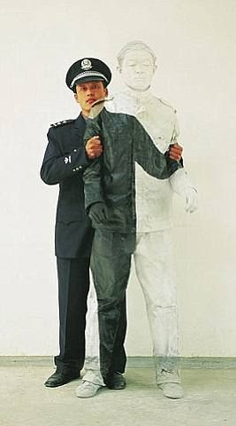 Liu Bolin, Civilian & Policeman