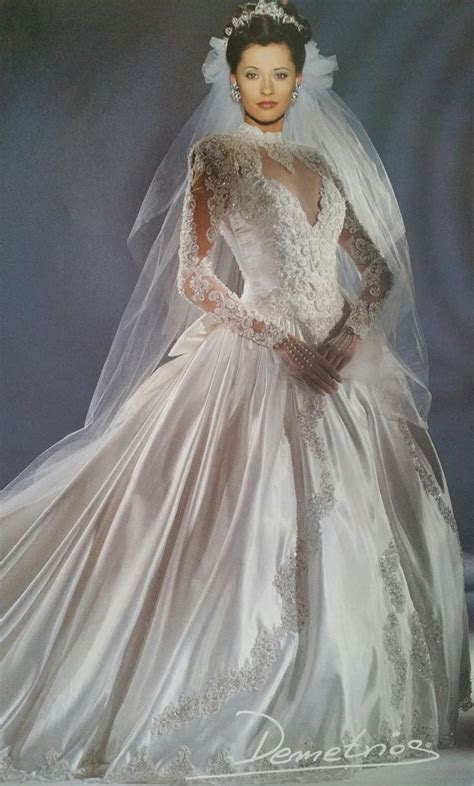 Demetrios 1994   Demetrios 90's collections   Bridal