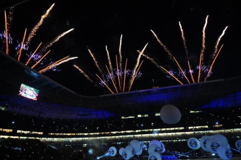 Fogos de artifício marcaram a celebração:imagem 18