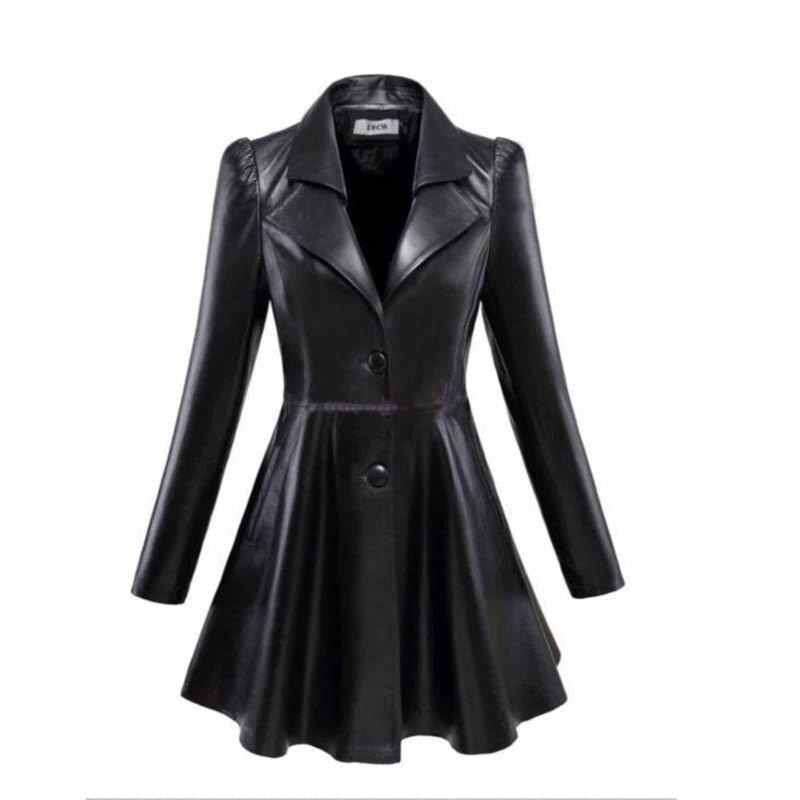 Leather Jacket Coat Design