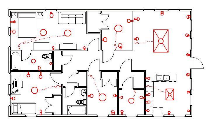 House Wiring Blueprint Symbols