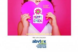 Página da Hippychick com selo da Abvtex, que foi retirado após a denúncia de escravidão. Imagem: Reprodução