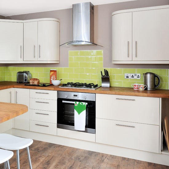 Cream modern kitchen | Kitchen ideas | housetohome.