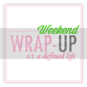 Weekend Wrap-up at a Defined Life