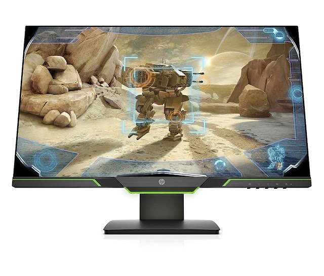 HP 25X 24.5-inch Full HD Gaming Display Monitor (Best Display)