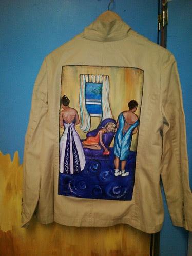 """méridienne"" a Jacket for Sarah E. Kucharski"