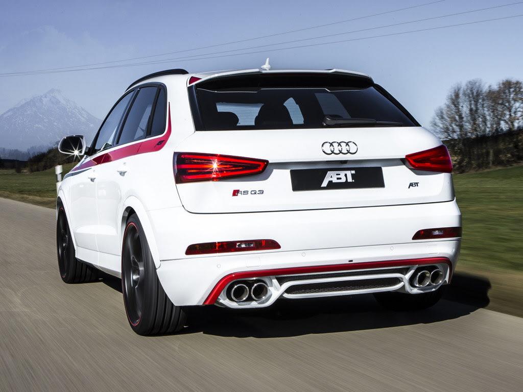 ABT Audi RS Q3 Announced for Geneva Motor Show