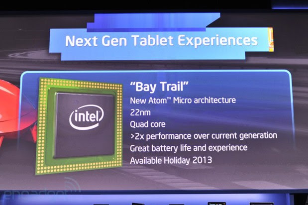 Bay Trail Atom processor