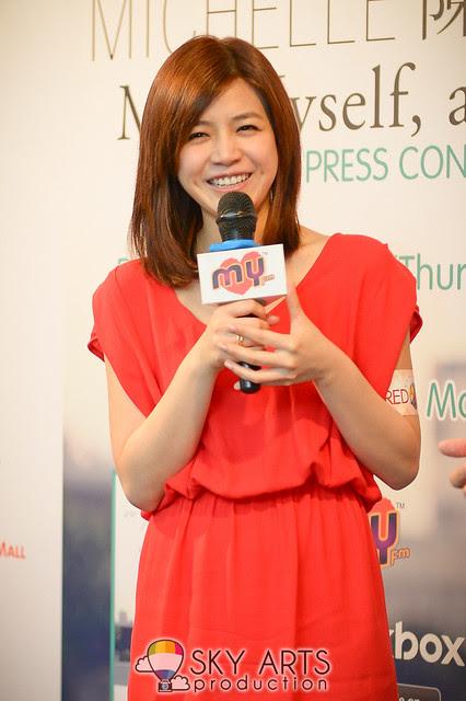 Michelle Chen 陳妍希 in Malaysia Music Showcase 陈妍希大马音乐分享会