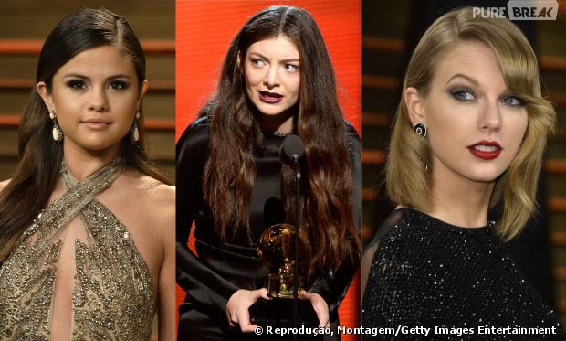 Selena Gomez, Lorde e Taylor Swift
