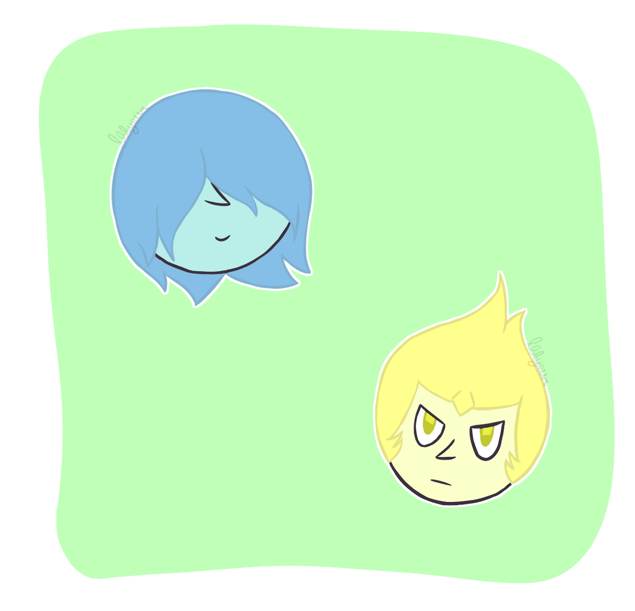 Oh snap its blue and yellow pearl
