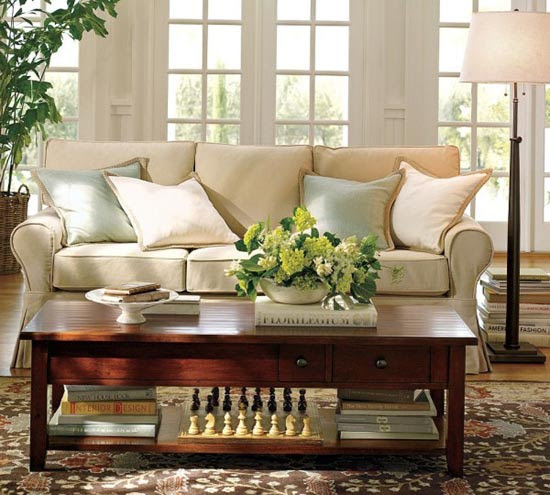 House Decorating Ideas | Living Room Decorating Ideas by Potterybarn