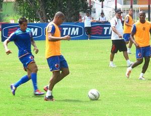 deivid flamengo treino (Foto: Janir Júnior / Globoesporte.com)