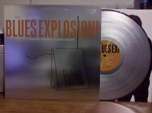 Jon Spencer Blues Explosion - Orange LP - Silver Glitter Vinyl