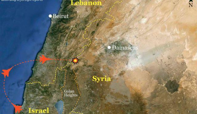 Άλλη εκδοχή δίνουν οι Σύροι για το ισραηλινό πλήγμα