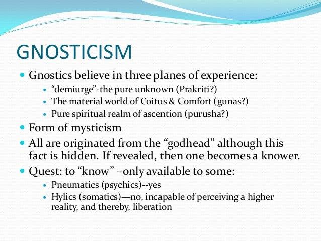 Risultati immagini per hylics pneumatics gnosticism