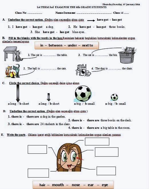 Ingilizce Eğitim Için