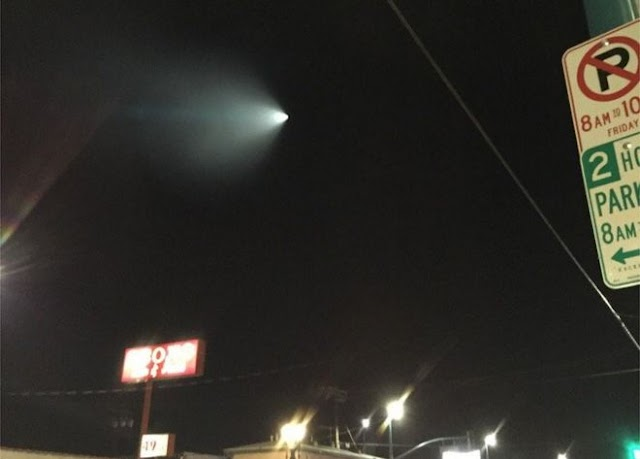 Breaking Mistery : Missile over LA spooks Californians