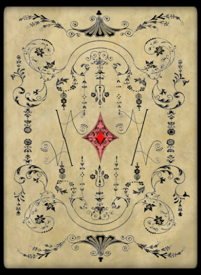 Victorian Adveture Deck Back Design