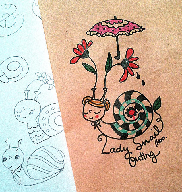 ladysnailouting
