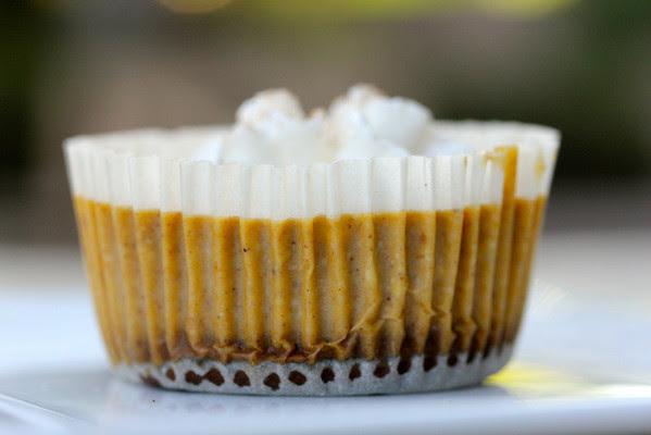 mini pumpkin cheesecakes and 20 Thanksgiving Day Recipes and a Bonus Turkey Leftover Recipe