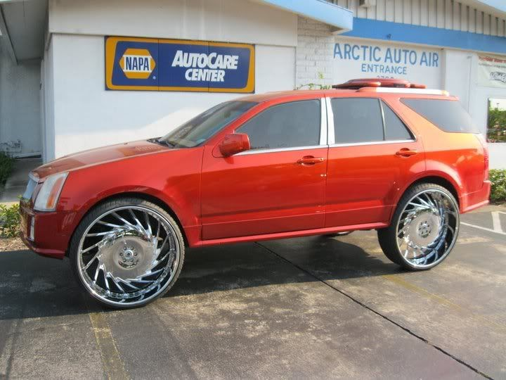 Ace 1 For Sale Candy Orange Cadillac Srx Asking 10 000