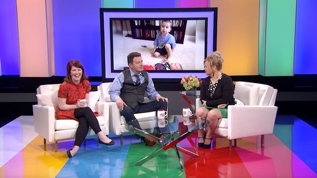 Kate Flannery, John Michael Higgins and Caroline Rhea