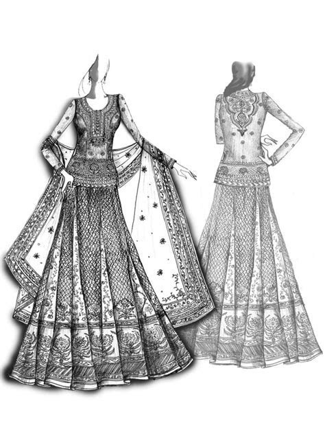 Chicboutique: Celebrity Bride: Ritu Kumar's Bridal Designs