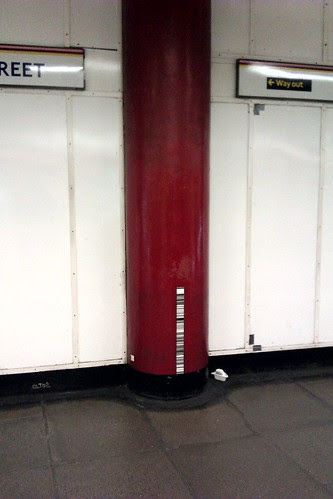 Bar Codes on Platform
