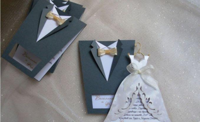 Desain berbentuk Pakaian Pengantin, Jas & Gaun, menarik ya! :)