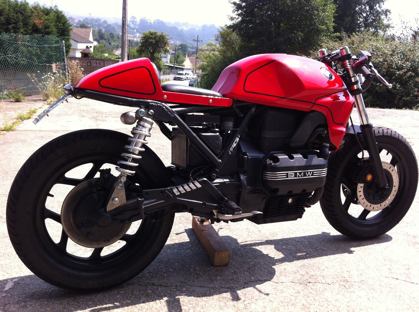 Tarmac Bmw K75 Shows That Less Can Be So Much More Autoevolution