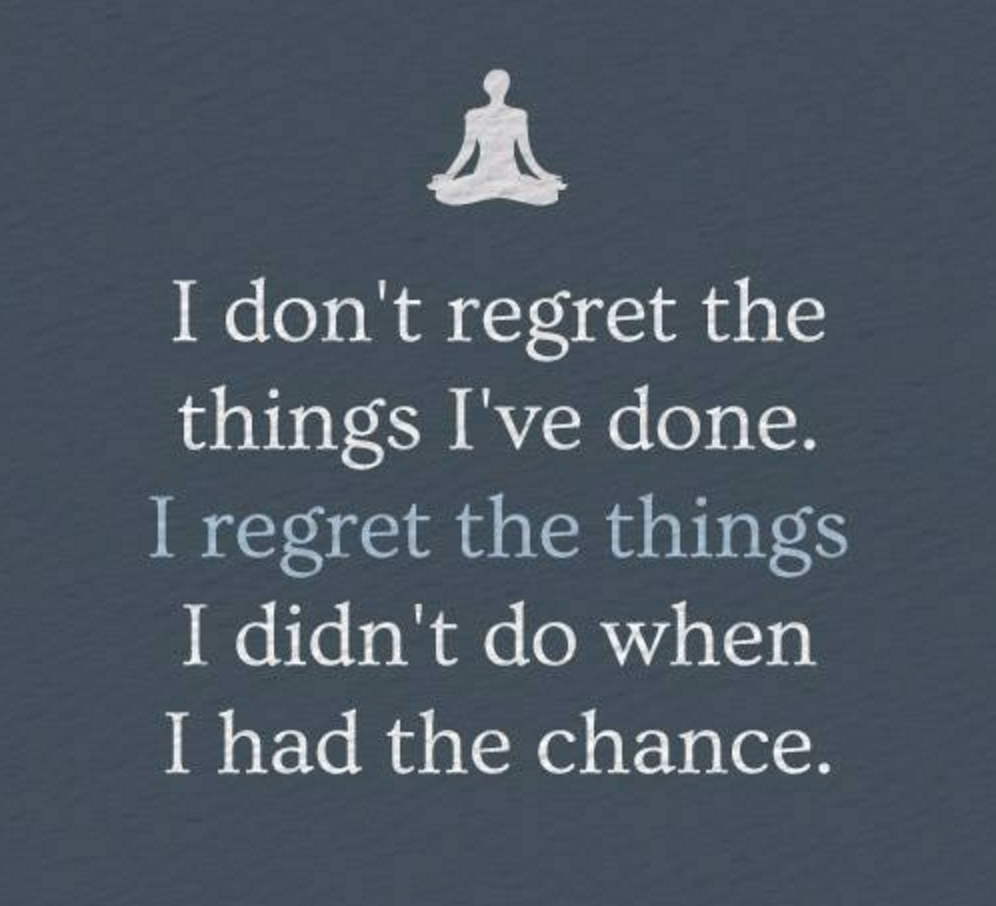 Quotes About No Regrets 193 Quotes