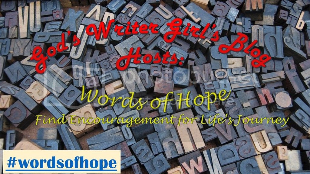 Words of Hope - God's Writer Girl's Blog