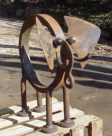 Elephant - Abstract sculptures and artwork as home decor and garden decor