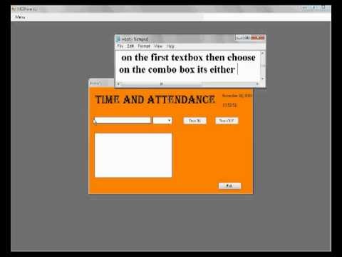 Daily Time Record System Free Download
