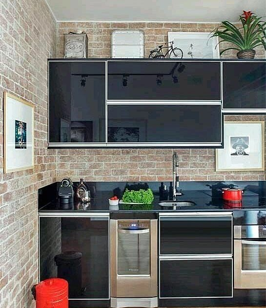 45 Kitchen Set Aluminium Minimalis Sederhana Konsep Top