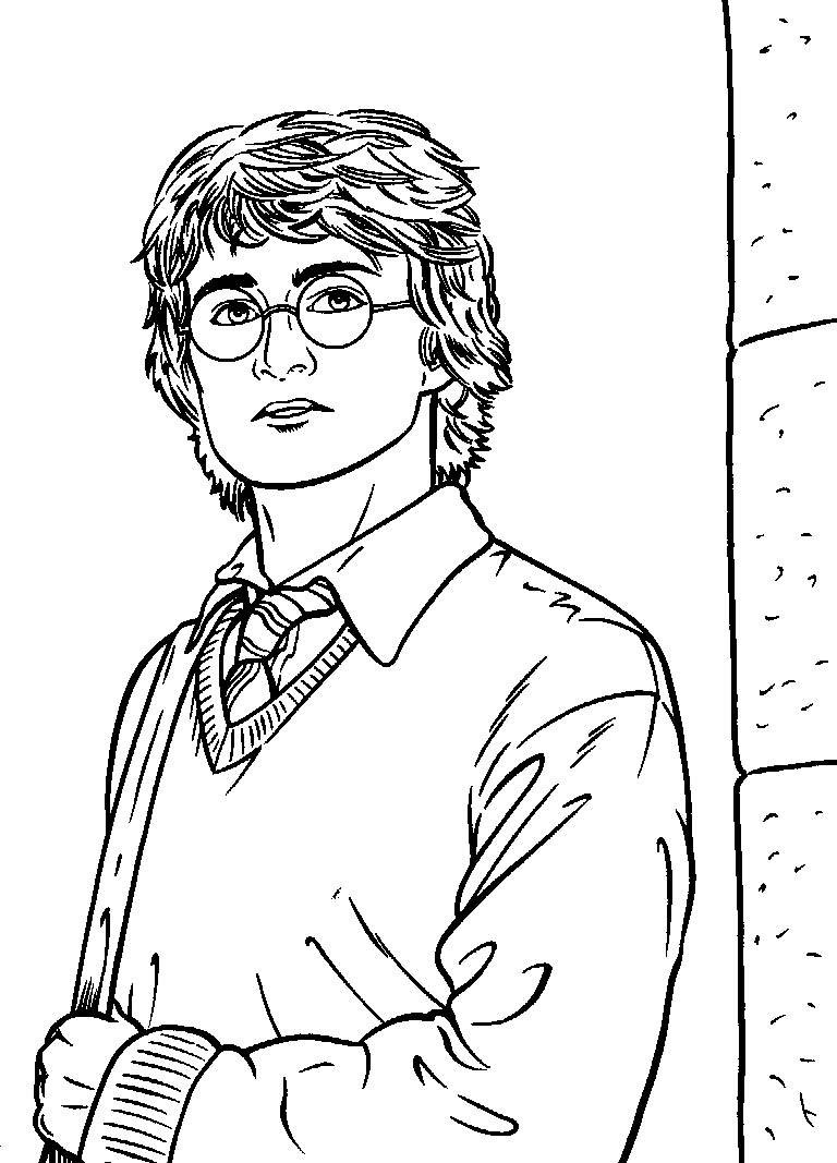Harry Potter Coloring Pages Hermione At Getdrawingscom Free For