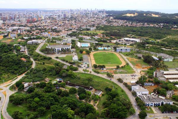 A área do campus da UFRN será um dos principais locais de estacionamento nos dias de jogos